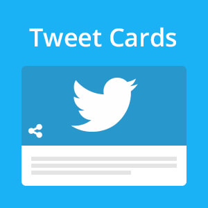 Joomla Tweet Cards